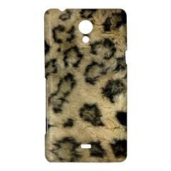 Leopard Coat2 Sony Xperia T Hardshell Case