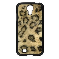 Leopard Coat2 Samsung Galaxy S4 I9500/ I9505 Case (Black)