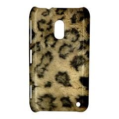 Leopard Coat2 Nokia Lumia 620 Hardshell Case