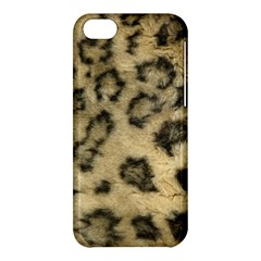 Leopard Coat2 Apple Iphone 5c Hardshell Case