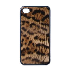Ocelot Coat Apple iPhone 4 Case (Black)