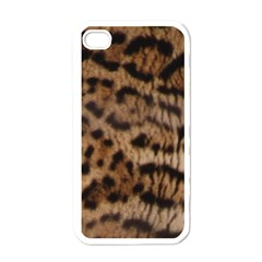 Ocelot Coat Apple iPhone 4 Case (White)