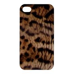 Ocelot Coat Apple Iphone 4/4s Hardshell Case