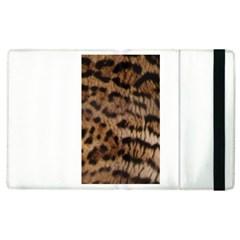 Ocelot Coat Apple Ipad 3/4 Flip Case