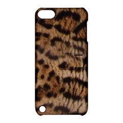 Ocelot Coat Apple Ipod Touch 5 Hardshell Case With Stand