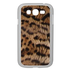 Ocelot Coat Samsung Galaxy Grand DUOS I9082 Case (White)