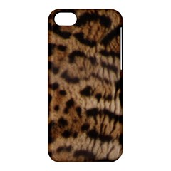 Ocelot Coat Apple iPhone 5C Hardshell Case
