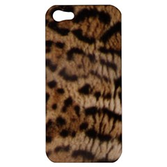Ocelot Coat Apple Iphone 5 Hardshell Case