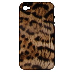 Ocelot Coat Apple iPhone 4/4S Hardshell Case (PC+Silicone)