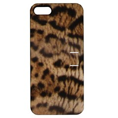 Ocelot Coat Apple Iphone 5 Hardshell Case With Stand