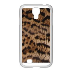 Ocelot Coat Samsung Galaxy S4 I9500/ I9505 Case (white)