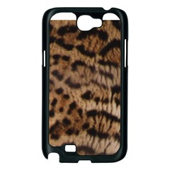 Ocelot Coat Samsung Galaxy Note 2 Case (Black)