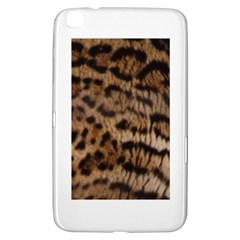 Ocelot Coat Samsung Galaxy Tab 3 (8 ) T3100 Hardshell Case