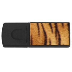 Tiger Coat2 4gb Usb Flash Drive (rectangle)