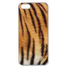Tiger Coat2 Apple Seamless iPhone 5 Case (Clear)