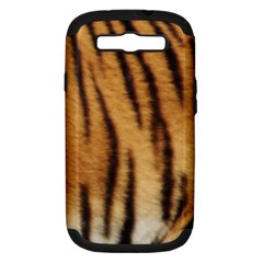Tiger Coat2 Samsung Galaxy S Iii Hardshell Case (pc+silicone)