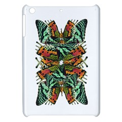 Butterfly Art Green & Orange Apple iPad Mini Hardshell Case