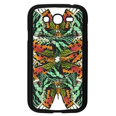 Butterfly Art Green & Orange Samsung Galaxy Grand DUOS I9082 Case (Black)