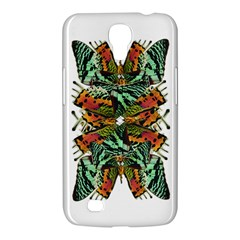 Butterfly Art Green & Orange Samsung Galaxy Mega 6.3  I9200