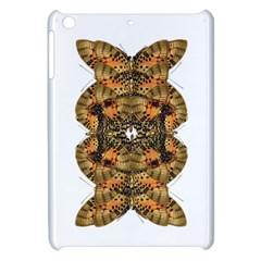 Butterfly Art Tan & Orange Apple Ipad Mini Hardshell Case