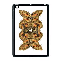 Butterfly Art Tan & Orange Apple Ipad Mini Case (black)