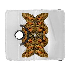 Butterfly Art Tan & Orange Samsung Galaxy S  Iii Flip 360 Case