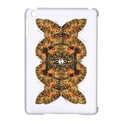 Butterfly Art Tan & Orange Apple iPad Mini Hardshell Case (Compatible with Smart Cover)