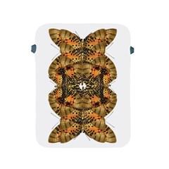 Butterfly Art Tan & Orange Apple iPad Protective Sleeve