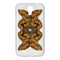 Butterfly Art Tan & Orange Samsung Galaxy Mega 6.3  I9200