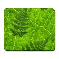 Leaf & Leaves Large Mouse Pad (rectangle)