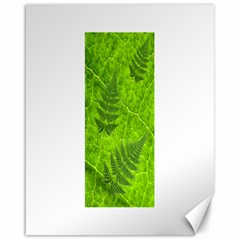 Leaf & Leaves Canvas 16  x 20  (Unframed)