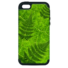 Leaf & Leaves Apple iPhone 5 Hardshell Case (PC+Silicone)