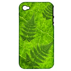 Leaf & Leaves Apple Iphone 4/4s Hardshell Case (pc+silicone)