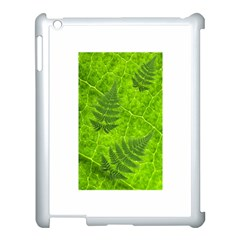 Leaf & Leaves Apple iPad 3/4 Case (White)
