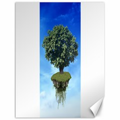 Floating Island Canvas 12  X 16  (unframed)