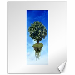 Floating Island Canvas 16  X 20  (unframed)