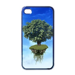 Floating Island Apple iPhone 4 Case (Black)