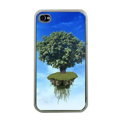 Floating Island Apple iPhone 4 Case (Clear)