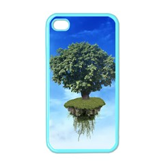 Floating Island Apple iPhone 4 Case (Color)