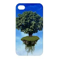 Floating Island Apple Iphone 4/4s Premium Hardshell Case