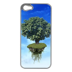 Floating Island Apple Iphone 5 Case (silver)