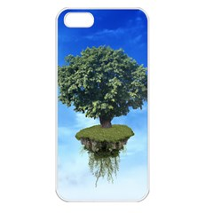 Floating Island Apple Iphone 5 Seamless Case (white)