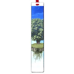 Floating Island Large Bookmark