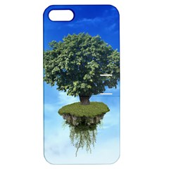Floating Island Apple iPhone 5 Hardshell Case with Stand