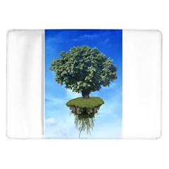 Floating Island Samsung Galaxy Tab 10.1  P7500 Flip Case