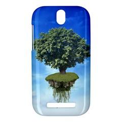 Floating Island HTC One SV Hardshell Case