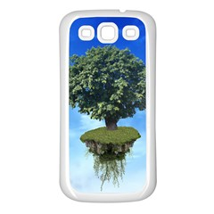 Floating Island Samsung Galaxy S3 Back Case (White)