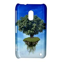 Floating Island Nokia Lumia 620 Hardshell Case