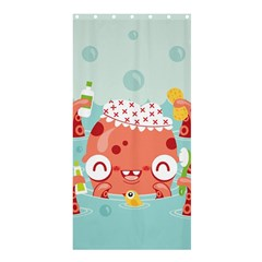 Mr. Bubbles Shower Curtain 36  x 72  (Stall)