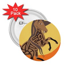 Embracing The Moon 2.25  Button (10 pack)